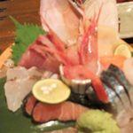 旬魚季菜 とと桜 - 刺身盛り合わせ中