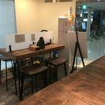 札幌ガッつけ蕎麦 - 椅子の席