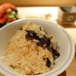 麻布 かどわき - 元祖黒トリュフご飯