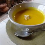 クワモンペ - かぼちゃのスープ