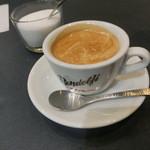 レアルタ - 食後はカフェオレ!