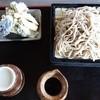 虚空蔵 - 料理写真:十割そば1,500円 1日15食 川場村産地粉使用 天ぷら小盛り付き