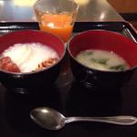 ダイワロイネットホテル 高松 - 熱のため食欲なく、これだけ。