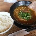 麺空間 灯かり - 灯かり醤油麺(ランチ700円)