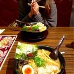 藤一番 - 濃厚醤油とんこつラーメン(680円)(2016.01現在)