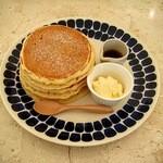 ハナミズキカフェ - クラシックパンケーキ