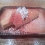 46675302 - 燻製チーズケーキ(480円)