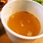 六徳 恒河沙 - 麻婆豆腐ランチ(中華スープ)