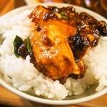 六徳 恒河沙 - 麻婆豆腐ランチ(麻婆豆腐オンザライス)