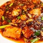 六徳 恒河沙 - 麻婆豆腐ランチ(麻婆豆腐)