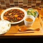六徳 恒河沙 - 麻婆豆腐ランチ