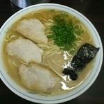 ラーメン げんこつ家 - ラーメン大盛650円(2015.12②)