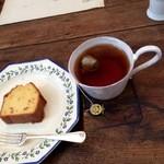 ル・プリュー - パウンドケーキとマリアージュの紅茶