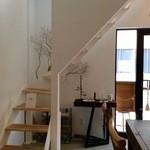 ル・プリュー - 二階へと続く階段
