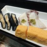 金寿司 - 茹でタコなど