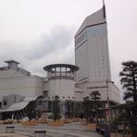 ダイワロイネットホテル 高松 - 高松駅から