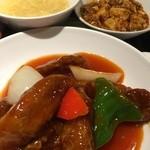 翠蓮 CHINESE RESTAURANT - 酢豚定食(麻婆豆腐付き)