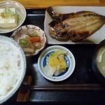 郷土料理と地酒のお店 稲穂 - 焼き鯖定食