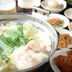 呑すけ - もつ鍋!3種類の味からお選びください。