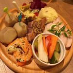 バルトン - タパス(小皿料理)盛り合わせ