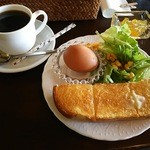 cafe 花音 - アメリカン 400円とAセット