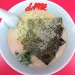 ラーメン山岡家 - 塩ラーメンのアップ