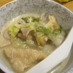 一番鳥 - 白菜とキノコの酒粕煮