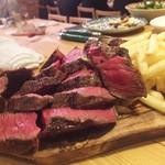 Carne Rico Katete - 超熟成牛ランイチの炭火焼き