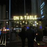 on A TABLE -
