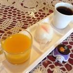 桃李 - H.28.1.22.昼 飲茶・デザート・コーヒー((日替りランチ 1,380円税込))