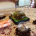桃李 - H.28.1.22.昼 席につくとジャスミン茶が提供されます