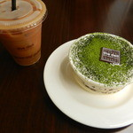 46689911 - 抹茶ティラミス×コーヒー