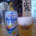 やーじ 小 - オリオンビール 400円