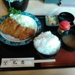 丸忠 - ランチロース定食