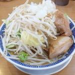 鳳神角ふじ - ふじそば+野菜チョイ増し