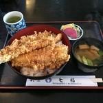 七福 - 穴子天丼¥1,620