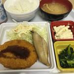 食彩工房 - 料理写真:コロッケと鰆