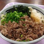 うどん処  しんせい - 肉ぶっかけ大(*´д`*)550円