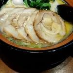 横浜家系ラーメン なかいち家 - 料理写真:『塩豚骨チャーシュー並』¥850-