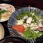 季鶏屋 - サラダなど