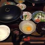 季鶏屋 - 鶏カツ煮定食