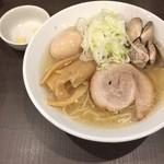 麺屋りゅう - 味玉塩らーめん 大盛