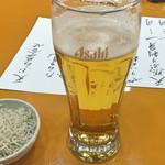 天ぷら 筧 - 生ビール