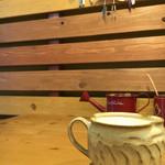 カフェ 桜コ.. - 半個室で周りを気にせずくつろげます。