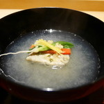 いち太 - 牡蠣真丈の霙椀
