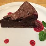 トラットリア レモン - チョコレートケーキ