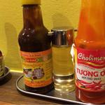 ベトナム料理コムゴン - 味の変化を楽しめます。