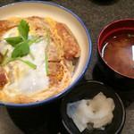 とん竹 - かつ丼 900円