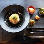 周防大島 OTera Cafe - 1/22 季節の気まぐれランチ 焦がし味噌のだし茶漬け