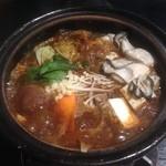 46697753 - かき土手鍋